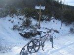 Ruta por Carrasconte en Bici de nieve - cuencas mineras enduro
